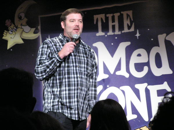 Dan Whitehurst at Comedy Zone